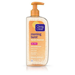 Clean and Clear morning burst skin brightening facial cleanser