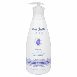 Live Clean Baby Serenity Lotion