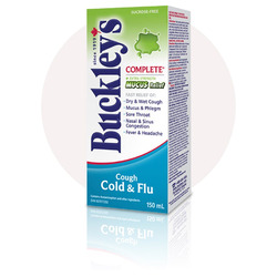 Buckley's Complete Cough, Cold & Flu Syrup