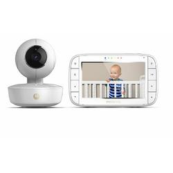 "Motorola MBP36XL Portable Color Screen Video Baby Monitor, 5"", White"