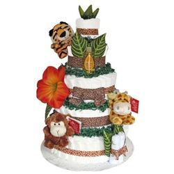 Baby Cotton Cakes Diaper Cakes