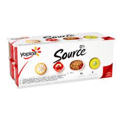 yoplait source dessert flavor, multi pkg