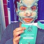 Snp animal dragom sheet mask