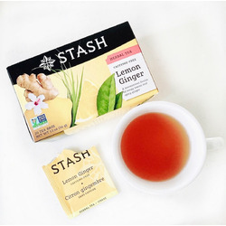 Stash - Lemon Ginger tea