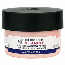 "The Body Shop - Vitamin E Nourishing Night Cream ""For All Skin Types"""