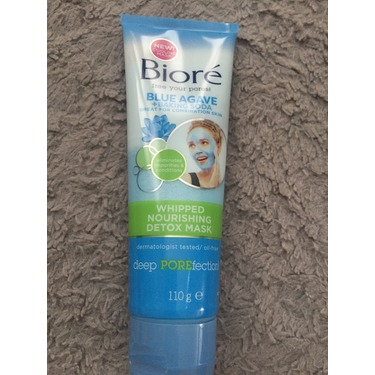 Bioré Blue Agave & Baking Soda Whipped Nourishing Detox Mask