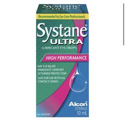 Systane Ultra Lubricant Eye Drops  High Performance