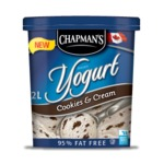 Chapmen's Cookies & Cream Frozen Yogurt