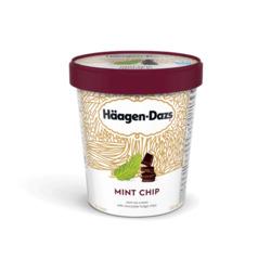 Haagen daz ice cream mint chip