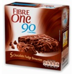 Fibre 1 90 Calorie Chocolate Fudge Brownies