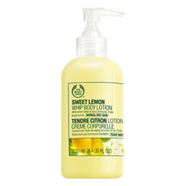 The Body Shop Sweet Lemon Whip Body Lotion
