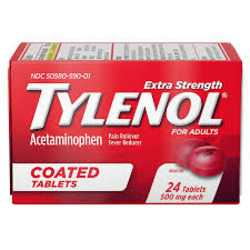 Tylenol Extra Strength Coated Tablets