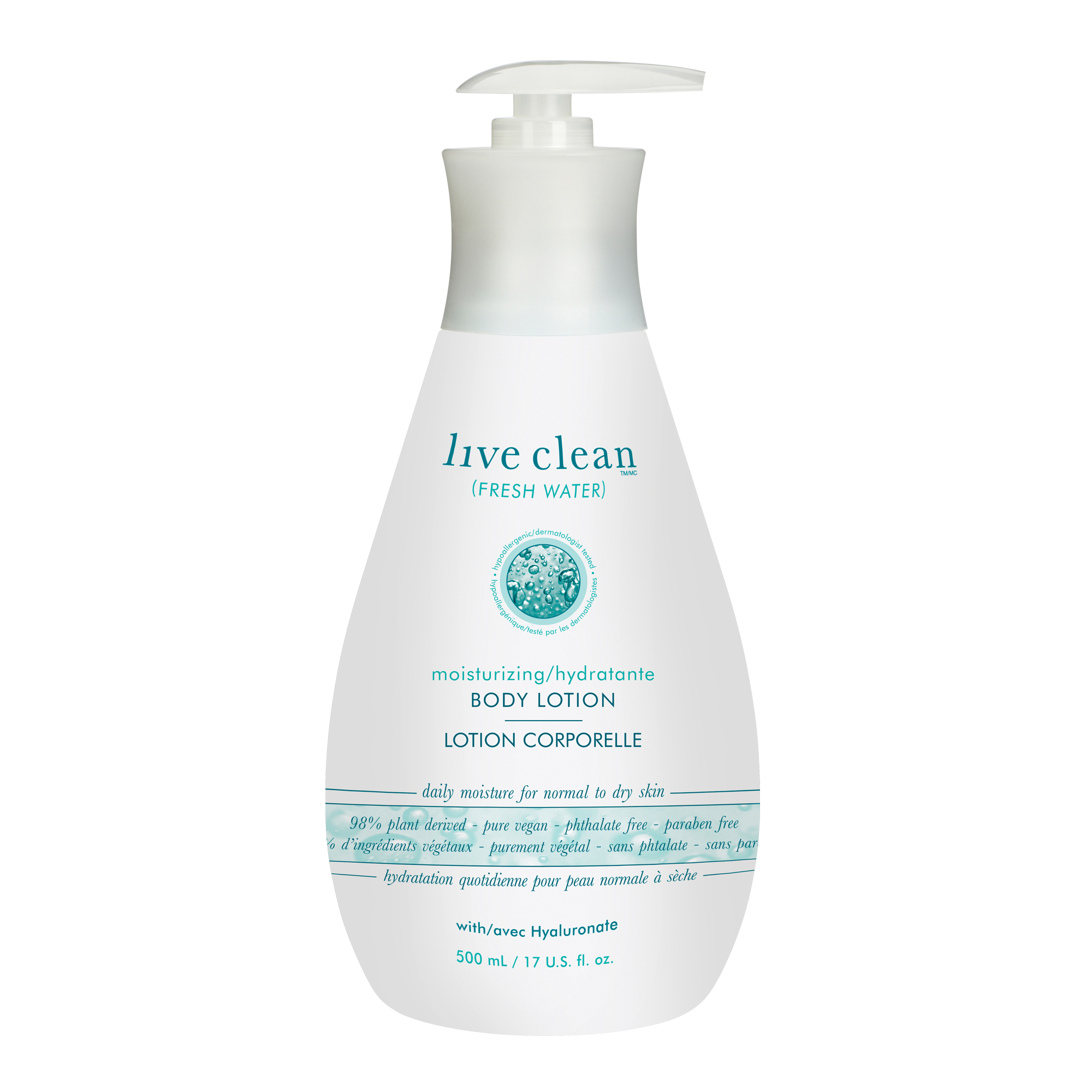 Live Clean Fresh Water Moisturizing Body Lotion Reviews In