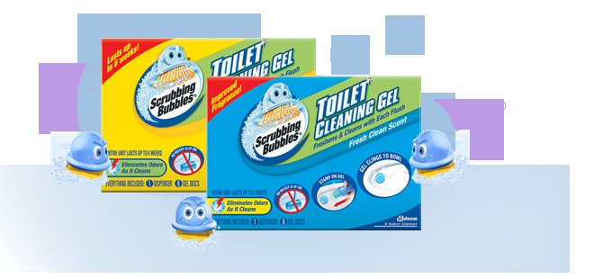 Scrubbing Bubbles Toilet Cleaning Gel Reviews In Household Cleaning Products