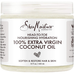 Shea moisture 100% virgin coconut oil daily hydration leave in treatment