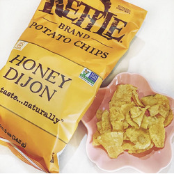 Kettle brand Honey Dijon potato chips
