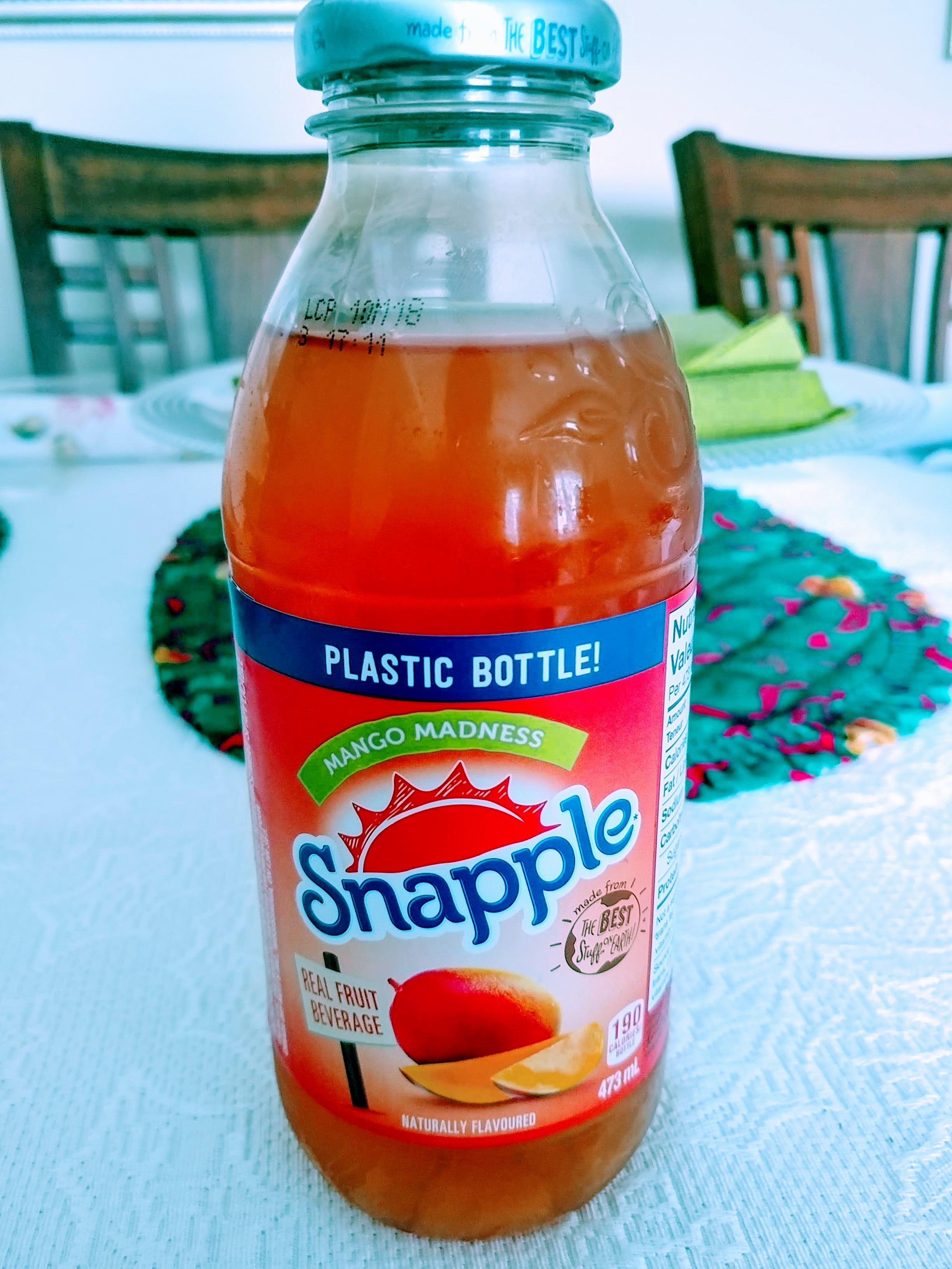Snapple Mango Madness Juice Drink reviews in Juice