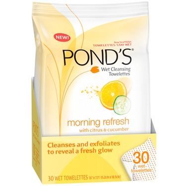 Pond's Cleansing and Exfoliating Towelettes