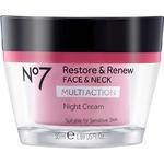 No 7 Restore & Renew Face & Neck Multiaction Night Cream