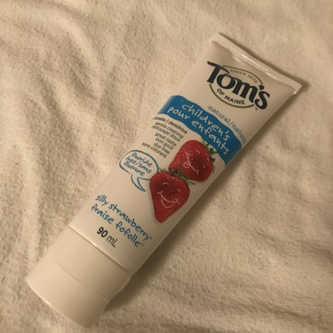 Tom's of Maine Children's Toothpaste Strawberry