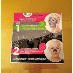 Biore 2-step Charcoal Pore Kit