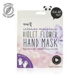 Oh K! Intense Moisture Violet Flower Hand Mask