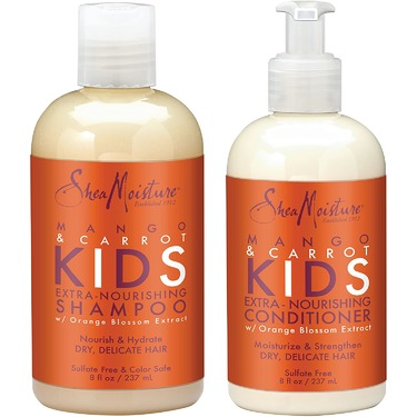 SheaMoisture Mango & Carrot Kids Shampoo and Conditioner