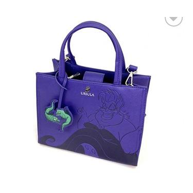 Disney - Ursula Debossed crossbody bag by Loungfly