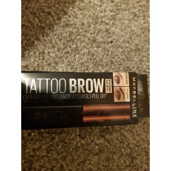 Maybelline tattoo studio brow tint pen