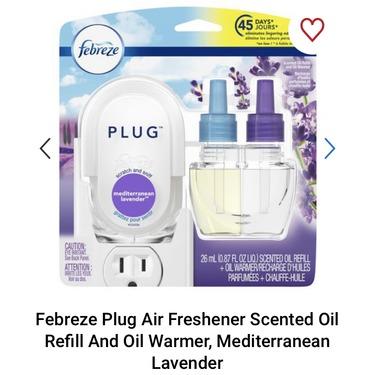 Febreze Plug Mediterranean Lavender