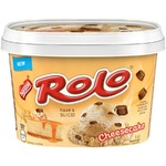 nestle rolo cheesecake ice cream