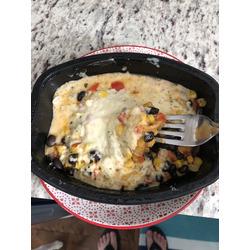CRAVE -creamy chicken enchiladas