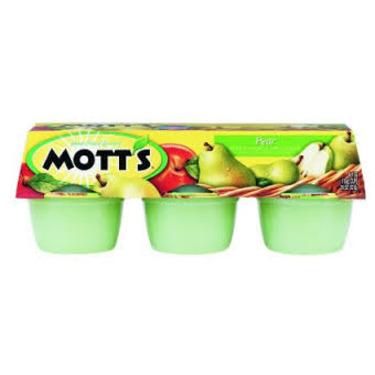 Motts fruit sensation pear flavored apple fruit snack