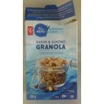Pc blue menu raison & almond granola