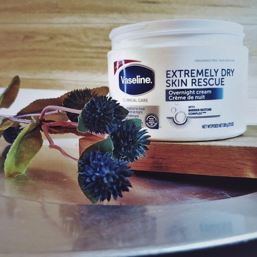 Vaseline Clinical Care™ Extremely Dry Skin Rescue Overnight Cream