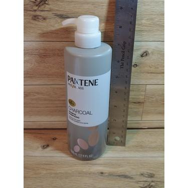 Pantene Pro v blends  charcoal shampoo