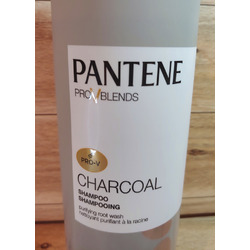 Pantene Pro v blends  charcoal shampoo