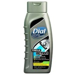 dial tripple action shave/shower/and shampoo