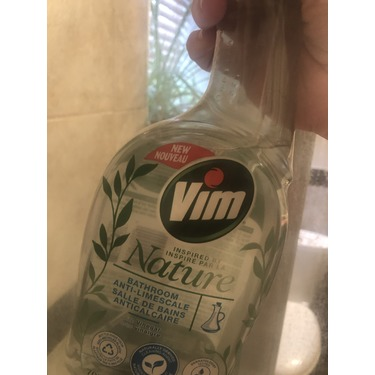 Vim Inspired by Nature Anti-Limescale Bathroom Spray