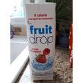 fruit drop fraise framboise