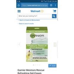 Garnier Moisture Rescue Refreshing Gel-Cream (Normal to Combination)