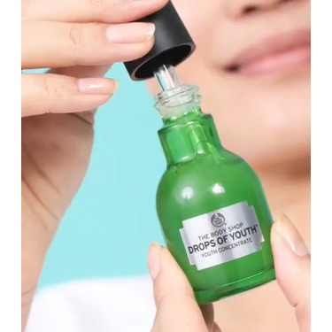 Drops of youth serum