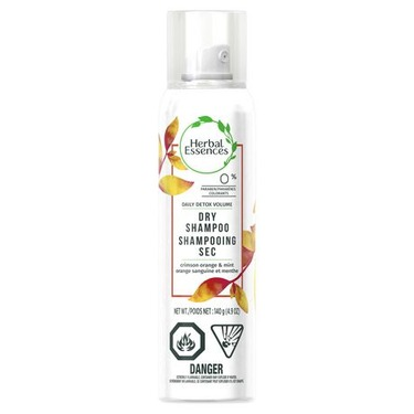 Herbal Essences Daily Detox Volume Dry Shampoo Crimson Orange & Mint