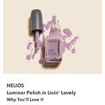 Helios luminor Polish in Livin' Lovely