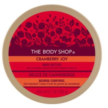 The Body Shop Cranberry Joy Body Butter