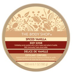The Body Shop Spiced Vanilla Body Scrub