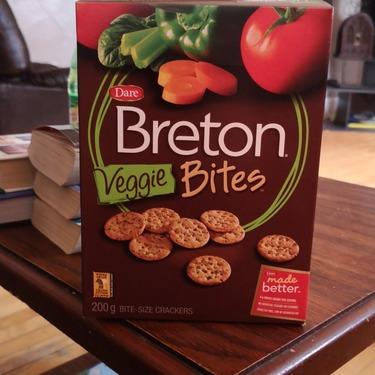 Breton bites veggie