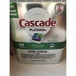 Cascade Platinum Dishwasher Detergent with Dove