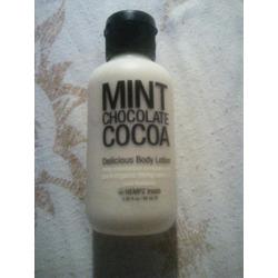 Hempz treat mint chocolate cocoa body lotion