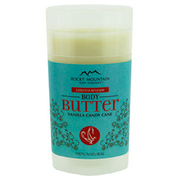 Rocky Mountain Soap Company Vanilla Candy Cane Body Butter